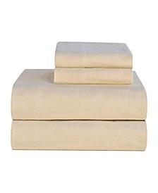 California King Ultra Soft Flannel Sheet Set