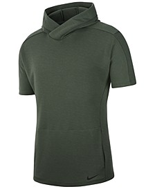 Men's Dri-FIT Short-Sleeve Yoga Hoodie