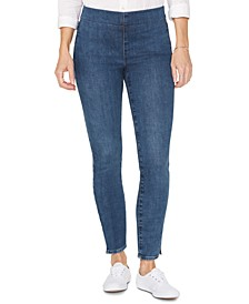 Pull-On Tummy Control Skinny Jeans