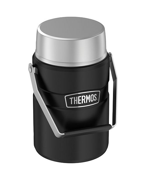 Thermos 47-Ounce Stainless King Big Boss Stainless Steel Food Jar with 2 Inner Containers