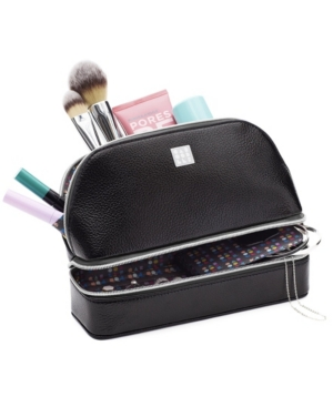 Cosmetic Bag With Jewelry Organizer