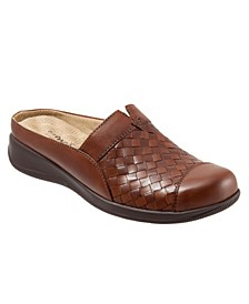 San Marcos Woven Slip-on Mules