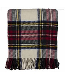 Highland Tartan Tweed Pure New Wool Throw