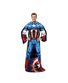 Captain America Adult Wearable Blanket
