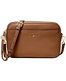 Jet Set Charm East West Leather Camera Crossbody