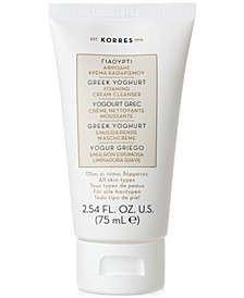 Greek Yoghurt Foaming Cream Cleanser, 2.54-oz.