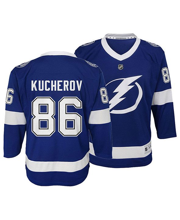 Outerstuff Big Boys Nikita Kucherov Tampa Bay Lightning Player Replica Jersey