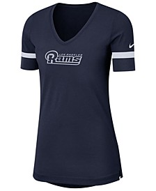 Women's Los Angeles Rams Dri-Fit Fan Top