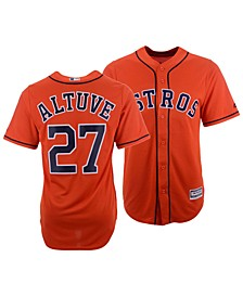 Men's Jose Altuve Houston Astros Player Replica Cool Base Jersey