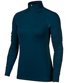 Women's Pro Warm Half-Zip Running Top