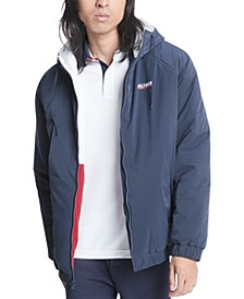 Men's Reversible Hooded Sport Jacket