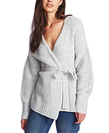 Belted Long-Sleeve Cardigan