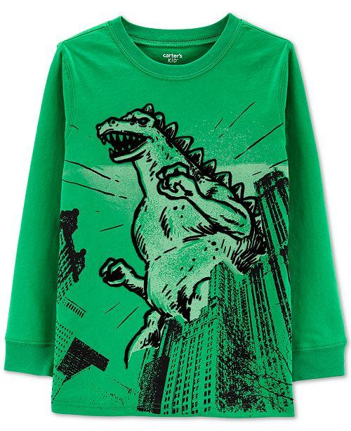 Carter's Little & Big Boys Dinosaur-Print Cotton T-Shirt