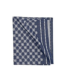C F Home Markle Jacquard Navy Napkin, Set of 6