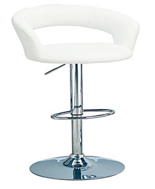 Antioch Upholstered Bar Stool with Adjustable Height