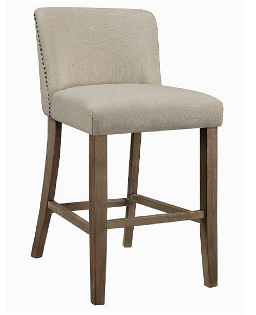 Coaster Home Furnishings Clemente Upholstered Bar Stools, Set of 2