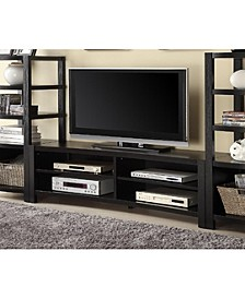 Ansonia 4-Shelf Tv Console