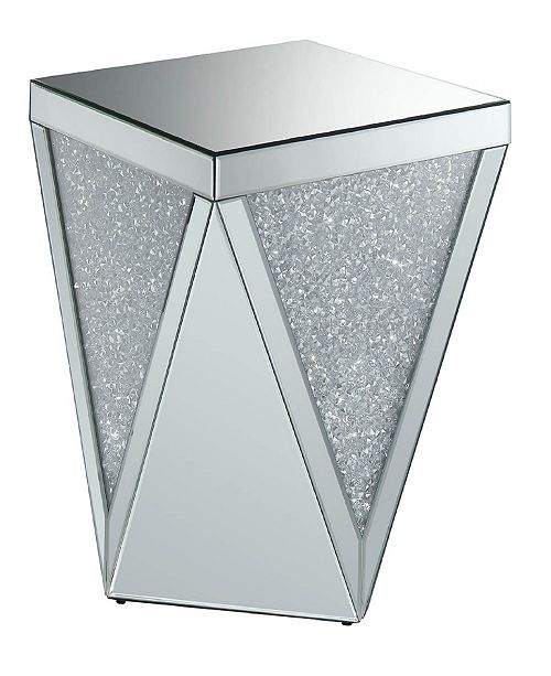 Coaster Home Furnishings Rockledge Square End Table with Triangle Detailing