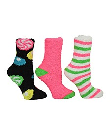 Candy Cozy Sock Giftbox, 3-Pack