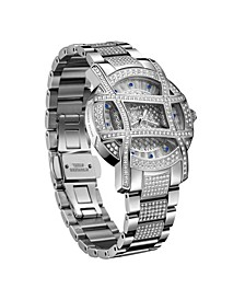 Women's Olympia Platinum Series Diamond (2 1/2 ct. t.w.) Stainless Steel Watch, 38Mm