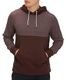 Men's Crone Textured Colorblock Hoodie