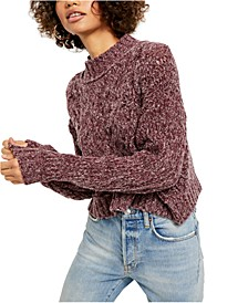 Merry Go Round Cable-Knit Sweater