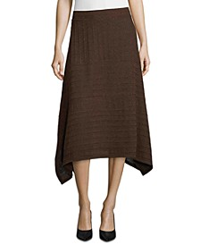 John Paul Richard Handkerchief-Hem Textured Skirt
