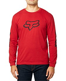 Men's Finisher Logo Long Sleeve T-Shirt