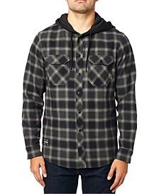 Men's Avalon Hooded Flannel Shirt
