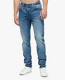 Men's Rocco Big T Skinny Fit Jean with back Flap Pockets