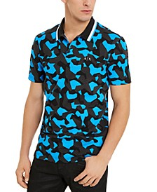 Men's Hyperbright Regular-Fit Camouflage Polo Shirt, Created For Macy's