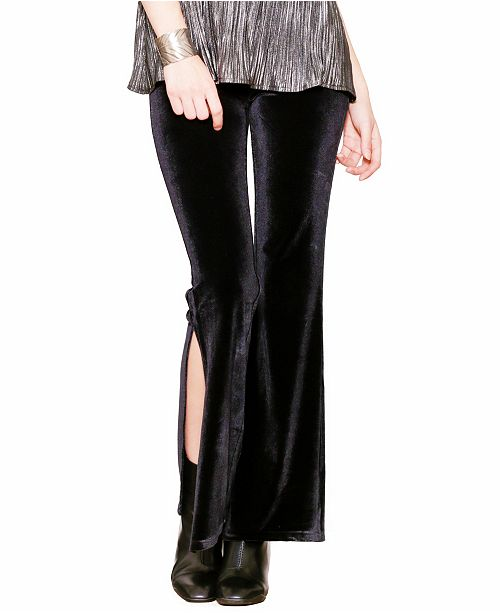 Pink Martini Collection Pink Martini Women's Moonlit Slit Pants