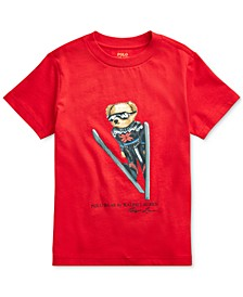 Toddler Boys Ski Bear Cotton Jersey T-Shirt, Created For Macy's