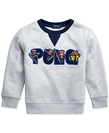 Toddler Boys Ski Bear Fleece Sweatshirt