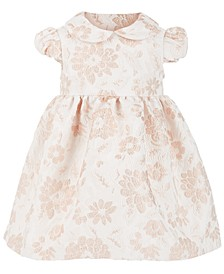 Baby Girls Floral-Brocade Dress
