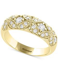 EFFY® Diamond Filigree Band (1/2 ct. t.w.) in 14k Gold