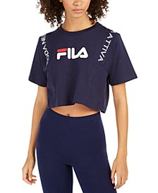 Appoline Cotton Cropped T-Shirt