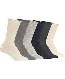 Women's Assorted 6-Pk. Crew Socks