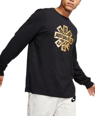 Men's Sportswear Metallic Logo T-Shirt
