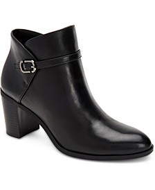 Women's Step 'N Flex Nadenne Block-Heel Booties, Created For Macy's
