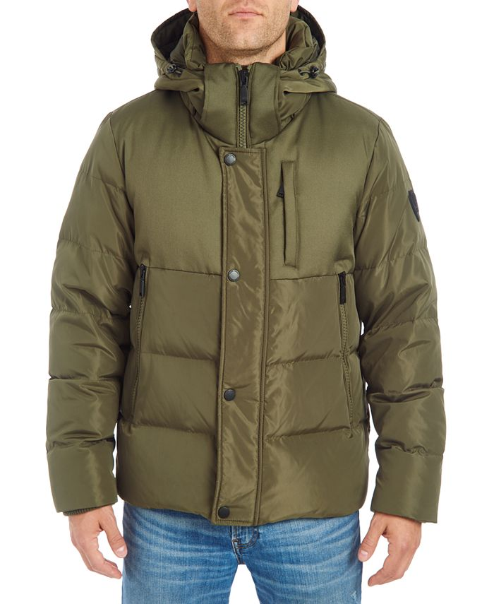 Vince Camuto - Men's Hooded Puffer Jacket