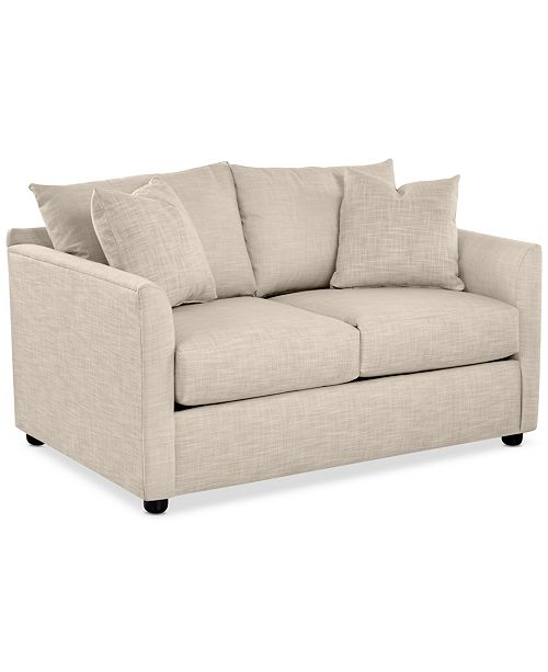 "Furniture Inia 59"" Fabric Loveseat"