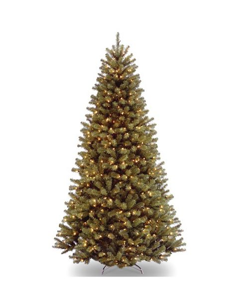 National Tree Company 6 ft. North Valley Spruce Tree with Clear Lights