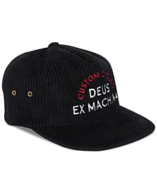Men's Allen Corduroy Embroidered Logo Hat