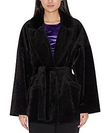 Faux-Fur Cabin Coat