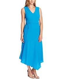 Sleeveless Asymmetric A-Line Dress