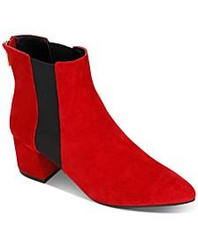 Kick Block-Heel Booties