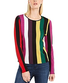 INC Metallic Striped Sweater, Created for Macy's