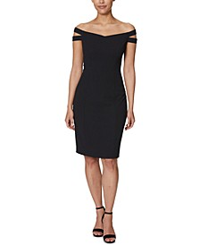 Off-Shoulder Sheath Dress