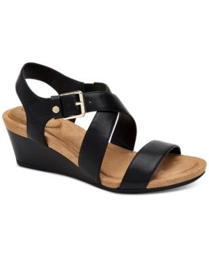 Blythee Memory-Foam Wedge Sandals